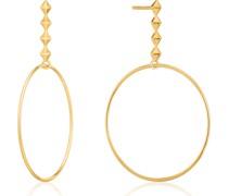 -Ohrhänger 925er Silber Gold 32014643