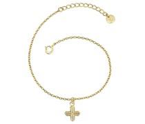 Armband Kreuz gelbgold