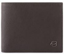 Black Square Geldbörse Leder 11 cm