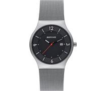 -Uhren Analog Quarz Schwarz 32000914