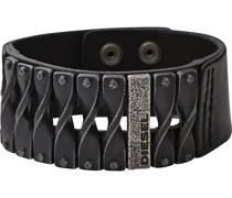 -Herrenarmband Leder One Size 85813730
