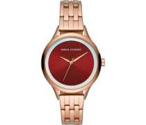 -Uhren Analog Quarz One Size Edelstahl 32010701