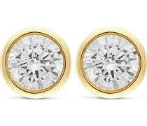 -Ohrstecker 333er Gelbgold 2 Zirkonia One Size 87008746