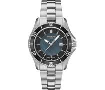 -Uhren Analog Quarz Silber 32012814