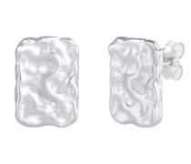 Ohrringe Ohrstecker Plättchen Vintage 925 Sterling Silber
