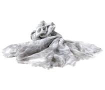 Grau Wohlfühlschal Batik Schal