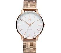 -Uhren Analog Quarz Roségold 32002086