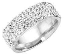 Ring mit Swarovski Steinen, Silber 925