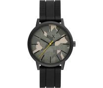 -Uhren Analog Quarz One Size Silikon 32012581