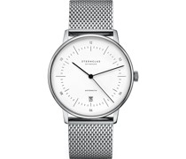 -Uhren Analog Automatik Silber 32011803