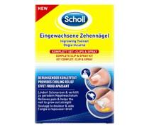 Eingewachsene Zehennägel Clips & Spray Fußcreme