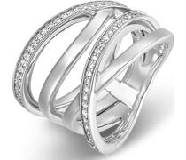 Silver-Damenring Silber 54 Zirkonia 57 32005427