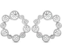 -Ohrstecker 925er Silber rhodiniert 20 Zirkonia One Size 87744574