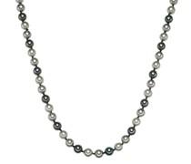 Halskette Sterling Silber Muschelkernperle silber