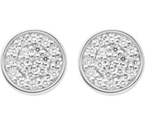 Silver-Ohrstecker 925er Silber 38 Zirkonia One Size 87223264