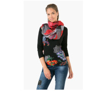 1 Stück Woman Woven Rectangle Foulard Schal