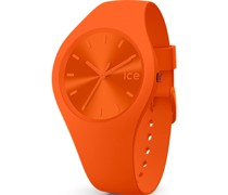 Unisex-Uhren Analog Quarz Orange 32015104