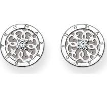 -Ohrstecker 925er Silber Zirkonia One Size 87171728
