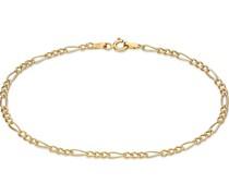 -Armband Armband Figaro 375er Gelbgold One Size 87989429