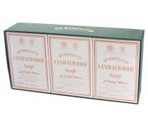 Sandalwood Bath Soap Box of 3