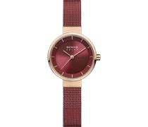 -Uhren Analog Solar Roségold 32017006