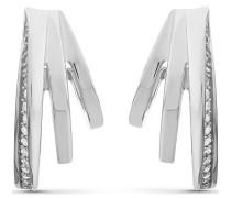 Silver-Creolen 925er Silber 40 Zirkonia One Size 87745678