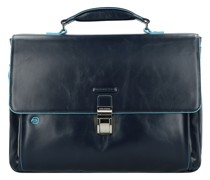 Blue Square Aktentasche II Leder 40 cm Laptopfach