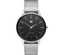 -Uhren Analog Quarz Silber/Schwarz 32002086
