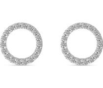 -Ohrstecker 925er Silber rhodiniert 36 Zirkonia One Size 87776549