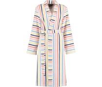 Bademantel Kimono Streifen 3343 weiß-multicolor - 62