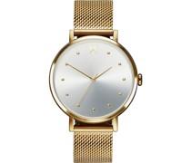 -Uhren Analog Quarz Gold 32014820