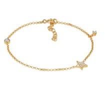 Armband Stern Astro Zirkonia Labradorit 925 Silber