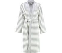 Bademantel Kimono Breton 6595 silber - 76