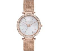 -Uhren Quarz Silberfarben Silberfarben 32012414