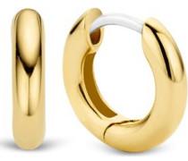 -Creolen 925er Silber Silber/Goldfarben Silber/Goldfarben 32013840