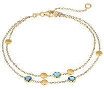 -Armband 375er Gelbgold 3 Topas One Size 87482154