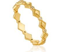 -Damenring Bohemia Ring 925er Silber Zirkonia 52 32014175