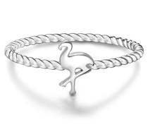 Ring Flamingo Sterling Silber silber