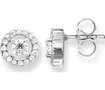 -Ohrstecker 925er Silber Zirkonia One Size 87171825
