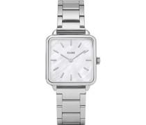 -Uhren Analog Quarz Silber 32005955