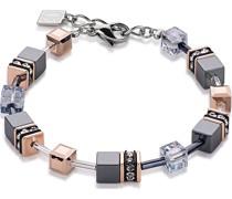 -Armband Edelstahl Grau 32001339