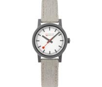 Unisex-Uhren Analog Quarz Hellgrau 32015958