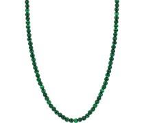 -Kette 925er Silber Malachit One Size 32014786