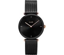-Uhren Analog Quarz Schwarz 32011686