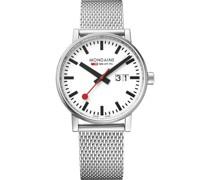 Unisex-Uhren Analog Quarz Silber 32015965