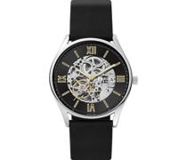 -Uhren Automatik Schwarz 32017202