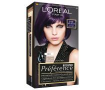 Nr. P38 - Intensives Violettbraun Haarfarbe