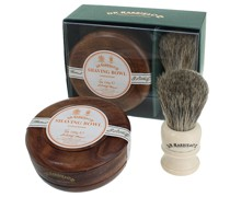 Sandalwood Shave Soap Set Mahogany
