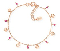 -Armband 925er Silber 8 Glasstein One Size 88160258