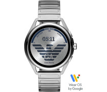 Armani Connected-Smartwatch Akku One Size Edelstahl 87922367